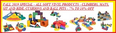 Fall 2018 10% off Vinyl Soft Play Special